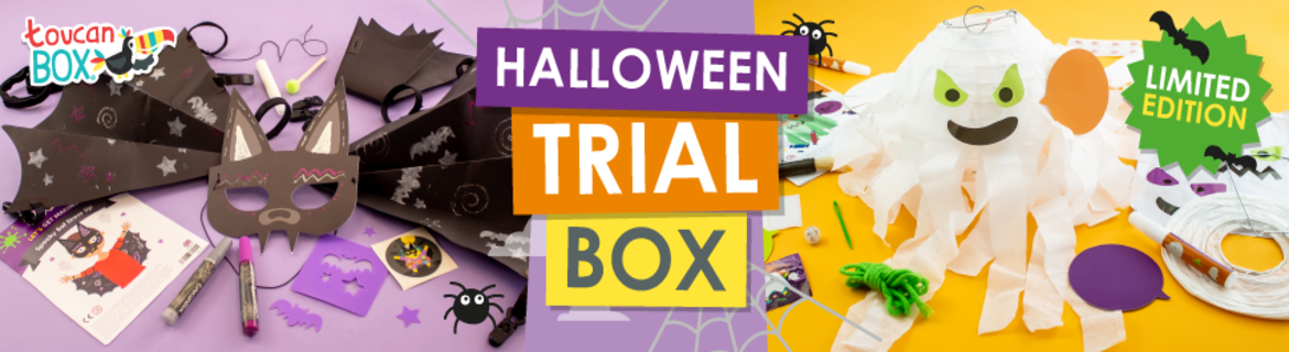 Limited Edition Halloween Craft Box for $5