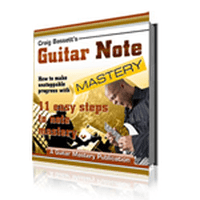 Guitar note mastery