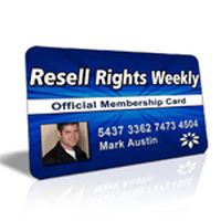 Resell Rights Weekly