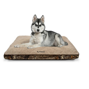 25% Off - Realtree 29 in. x 39 in. Quilted Camo Edge Pet Bed