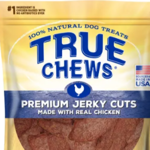 Save 40% On True Chews Premium Jerky Cuts Made With Real Chicken Natural Dog Treats, 22 oz.