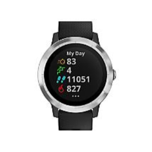 Grab 13% Off On GARMIN VivoActive 3 with Bonus Band - Black/White