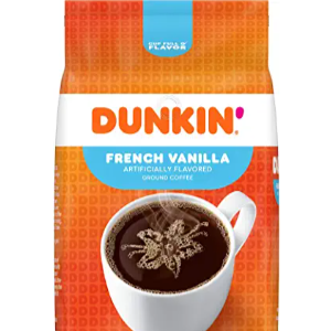 16% Off On Dunkin' French Vanilla Flavored Ground Coffee